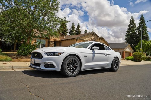 2016 Ford Mustang GT RTR Aero 7 Wheels
